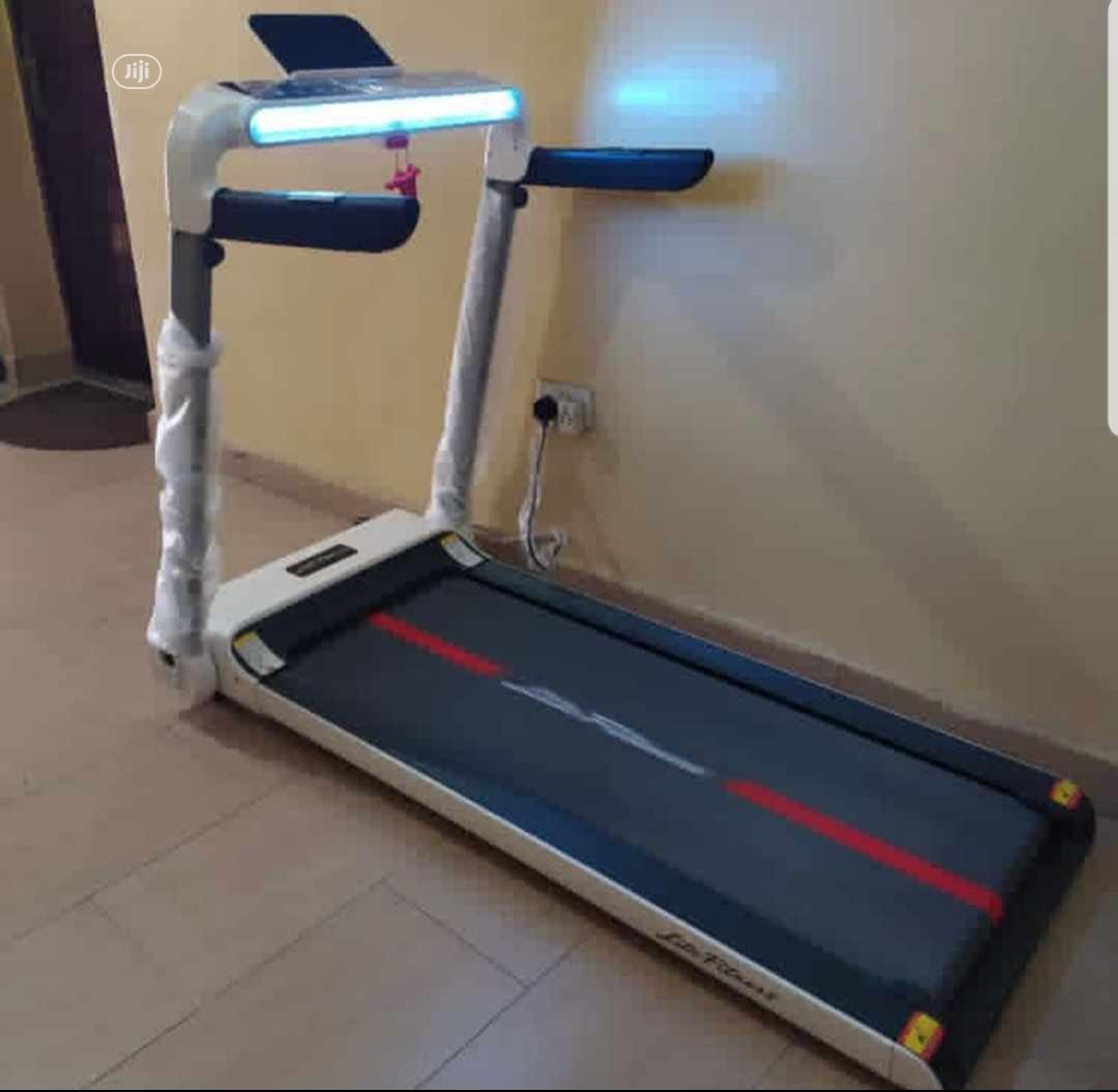 2HP Treadmill With Screen Touch
