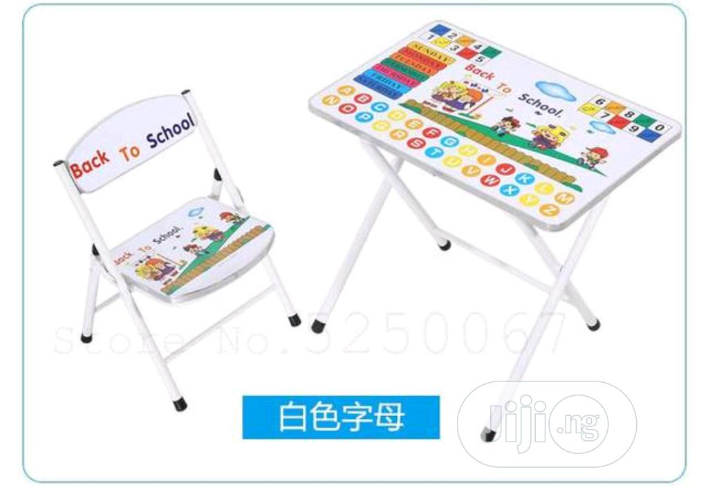 Children Study Table And Chair