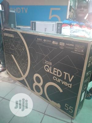 """Samsung 55"""" Curved Qled Tv 