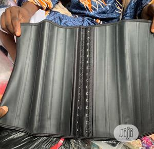 25 Steel Bone Latex Waist Trainer Bodyshaper   Clothing Accessories for sale in Lagos State, Surulere
