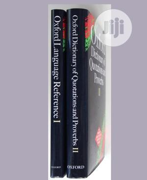 Oxford Language And Dictionary Of Quotations And Proverb   Books & Games for sale in Lagos State, Surulere