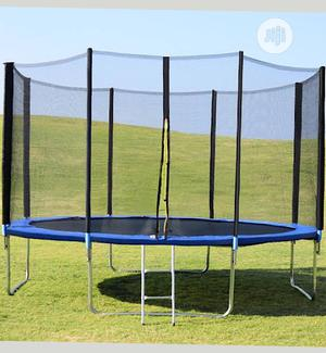 8ft Trampoline With Top Ring Enclosure System Equipped With   Sports Equipment for sale in Lagos State, Lagos Island (Eko)