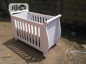 White Children Baby Cot | Children's Furniture for sale in Lagos State, Ojodu