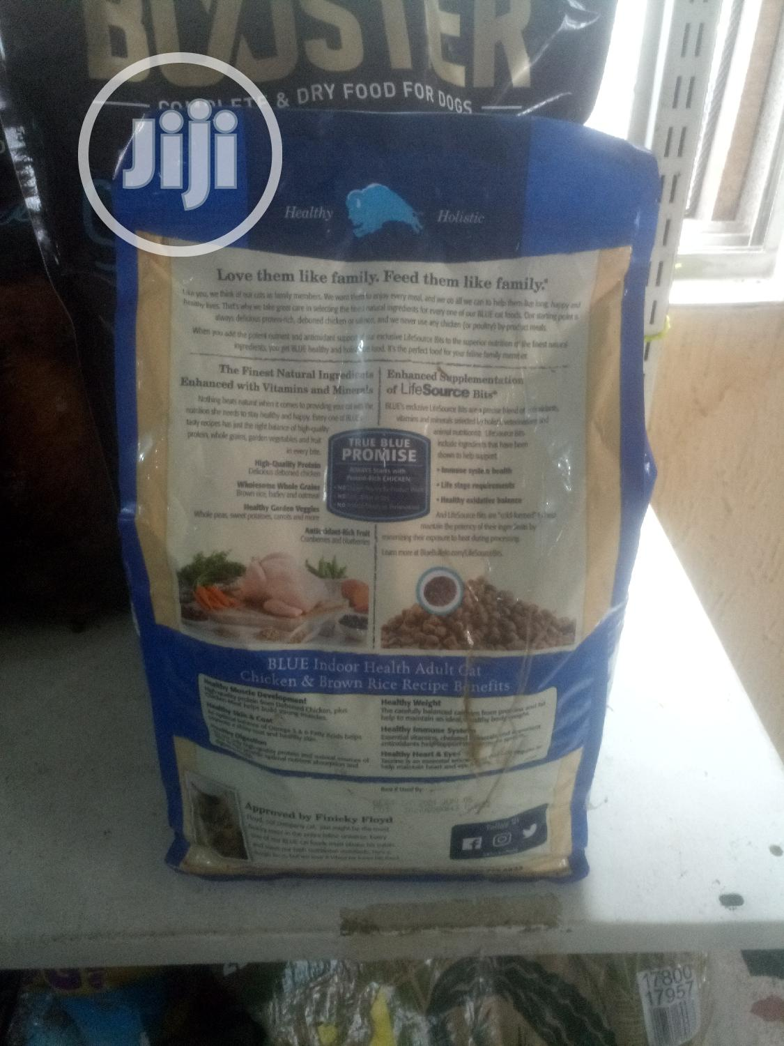 Archive: Healthy Holistic Blue Adult Cat Food