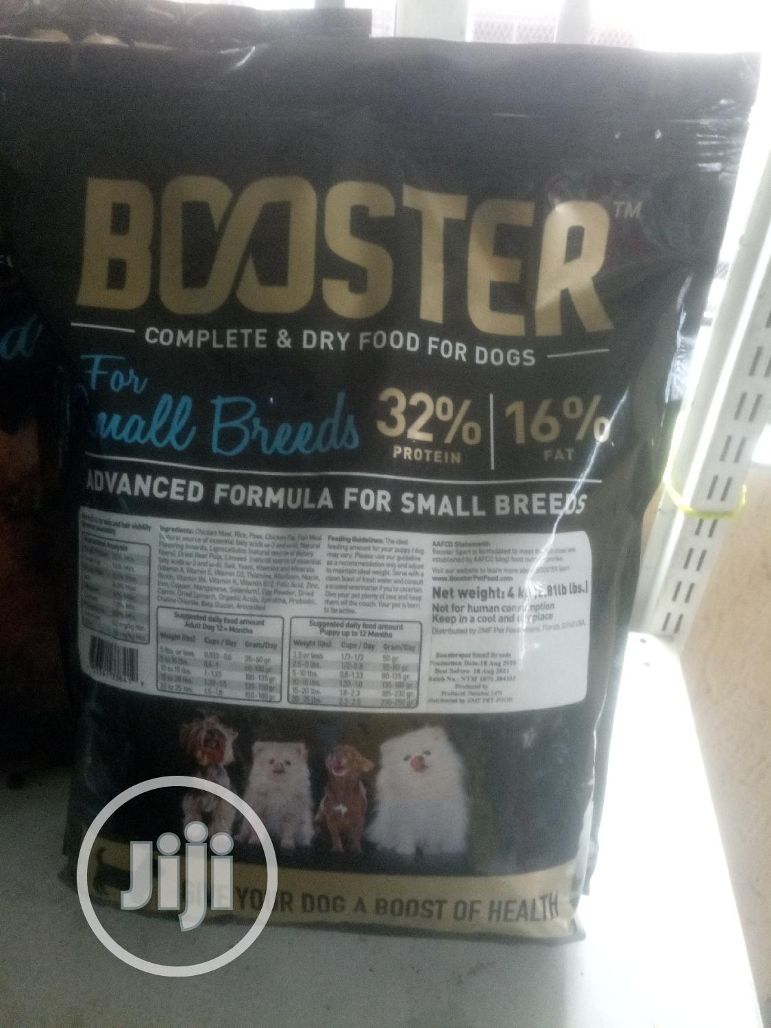 Archive: Boosters Complete & Dry Food For Small Breeds