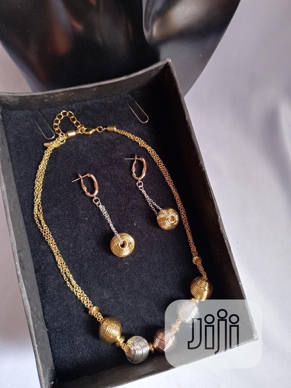 Tricolour Jewelry Sets