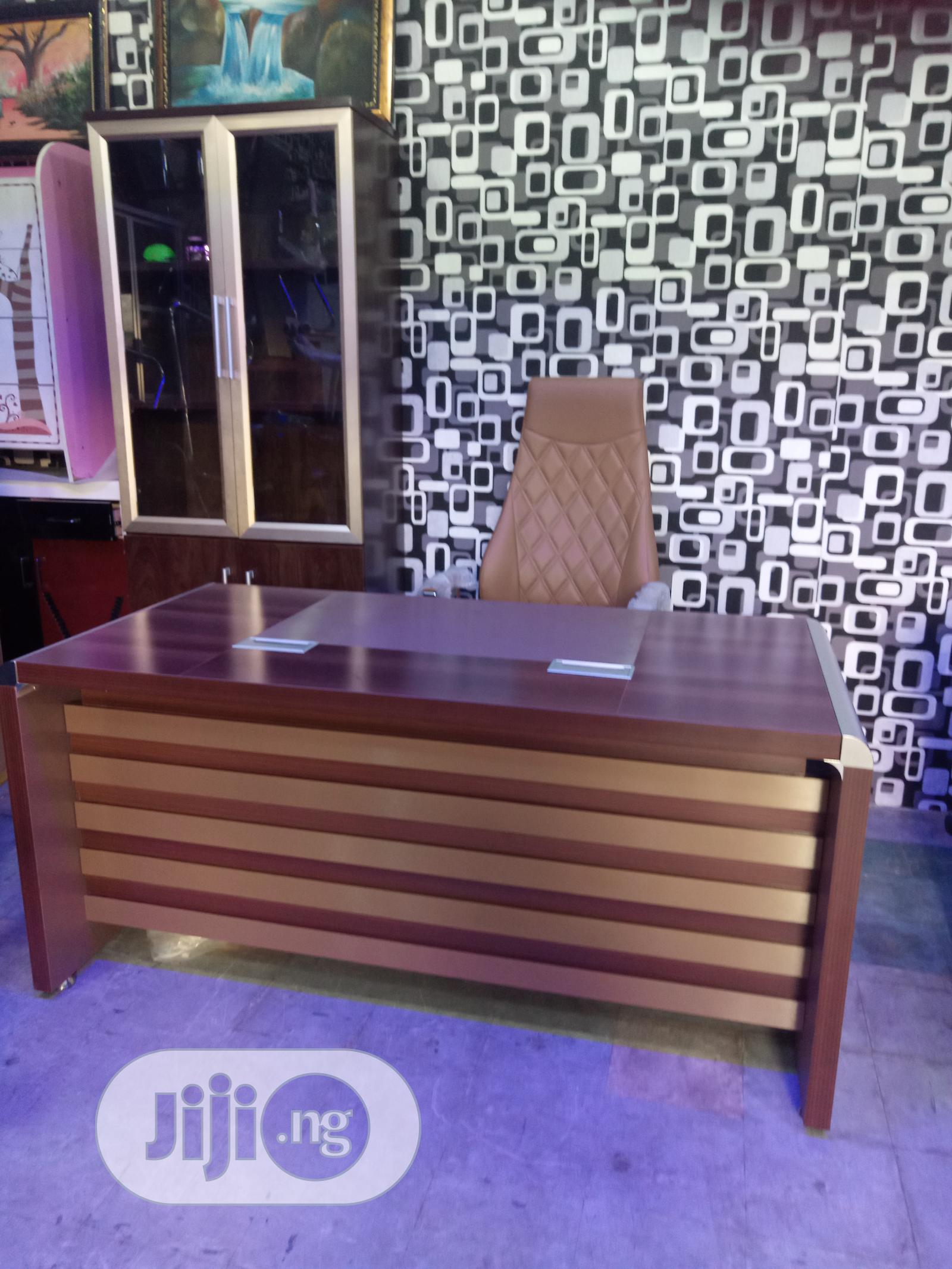 Executive Office Table, Chair Shelf | Furniture for sale in Port-Harcourt, Rivers State, Nigeria