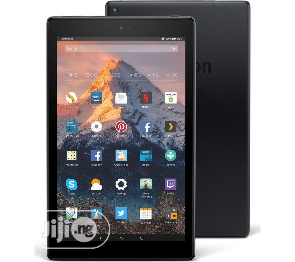 New Fire HD 10 32 GB Black