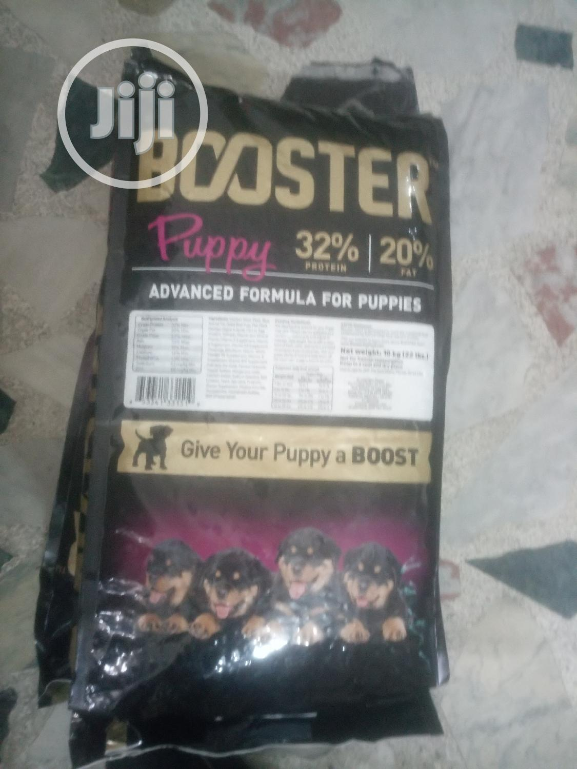 Booster Puppy Advanced Fomular For Puppies 10kg/22lb | Pet's Accessories for sale in Amuwo-Odofin, Lagos State, Nigeria
