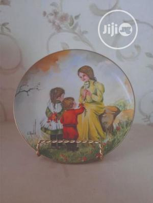 Mather Day Series Ceramic Plate Painting   Arts & Crafts for sale in Abuja (FCT) State, Wuse