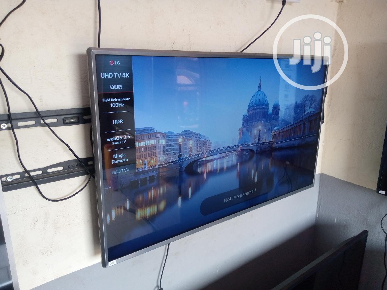 "43"" LG Smart Webos Uhd 4K Hdr TV 2017model { Uj654tg }   TV & DVD Equipment for sale in Ojo, Lagos State, Nigeria"