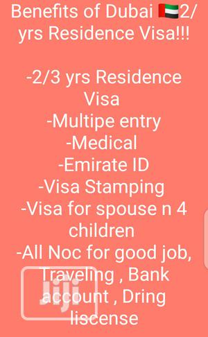 Dubai 2 Years Resident Visa And Employment Visa.   Travel Agents & Tours for sale in Osun State, Ife