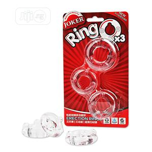 Three-ring Beaded Transparent Joker Penis Fun Ring   Sexual Wellness for sale in Lagos State, Victoria Island