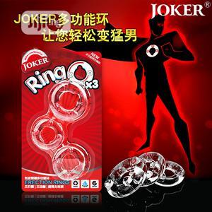 Joker Penis Card Box Three Rings   Sexual Wellness for sale in Lagos State, Ajah