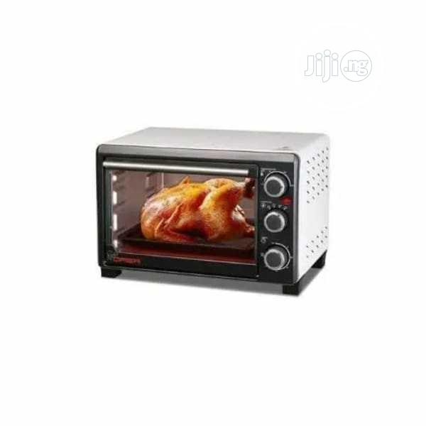 Qasa 19L Electric Oven Toaster + Grill (QOT-19) Tasty | Kitchen Appliances for sale in Ojodu, Lagos State, Nigeria