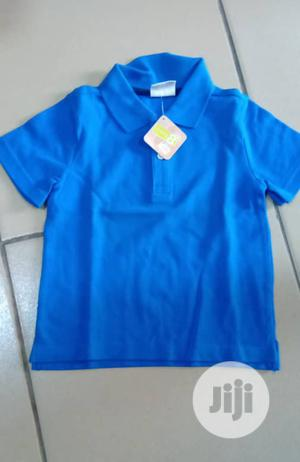 Blue Polo Top   Children's Clothing for sale in Nasarawa State, Nasarawa
