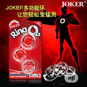 Card Box Three Jokers Cock Penis Transparent Rings | Sexual Wellness for sale in Lagos State, Apapa