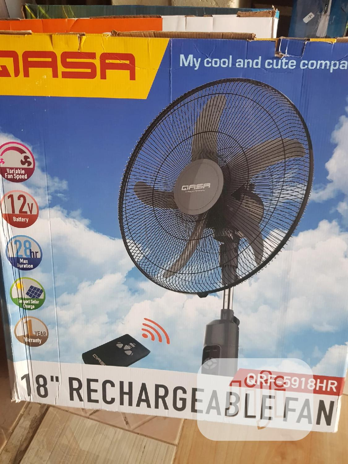 Qassa Rechargeable Fan