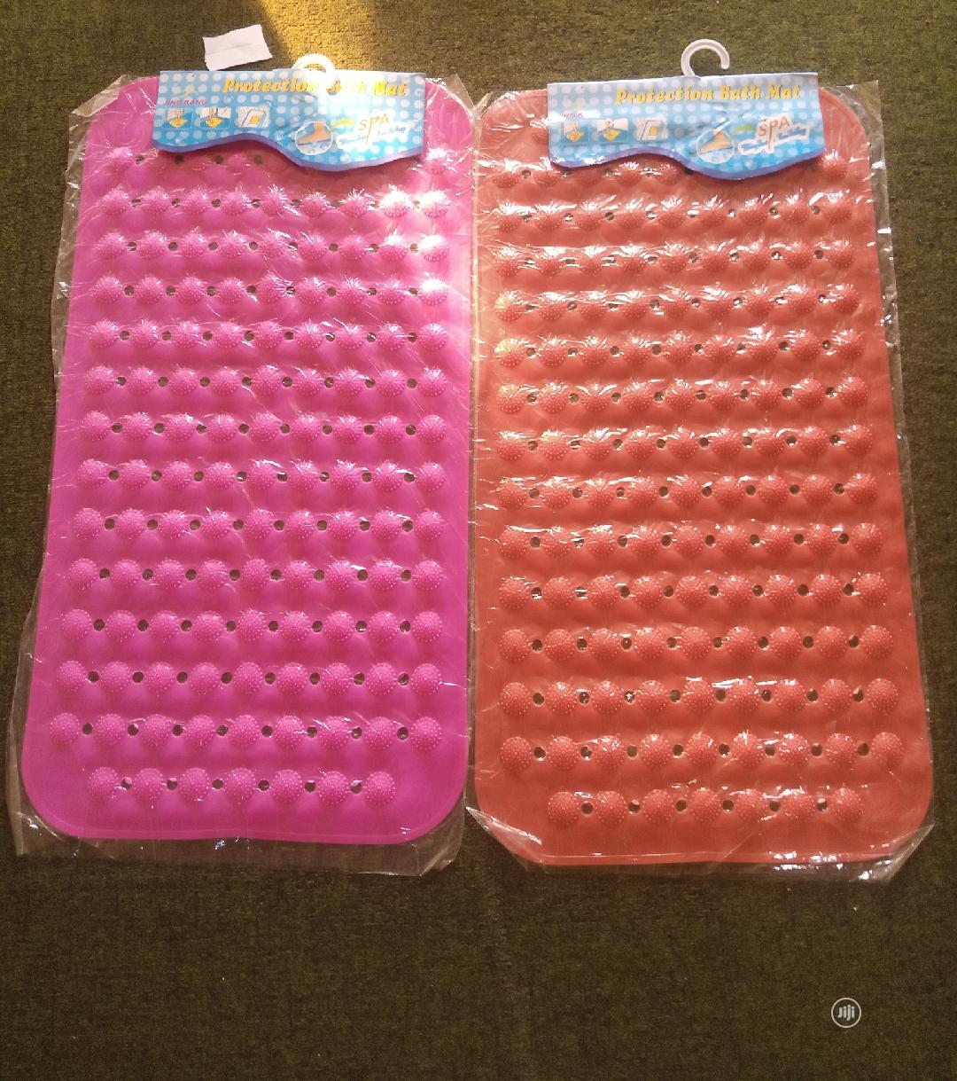 Anti Slip Bathroom Footmat 2pieces