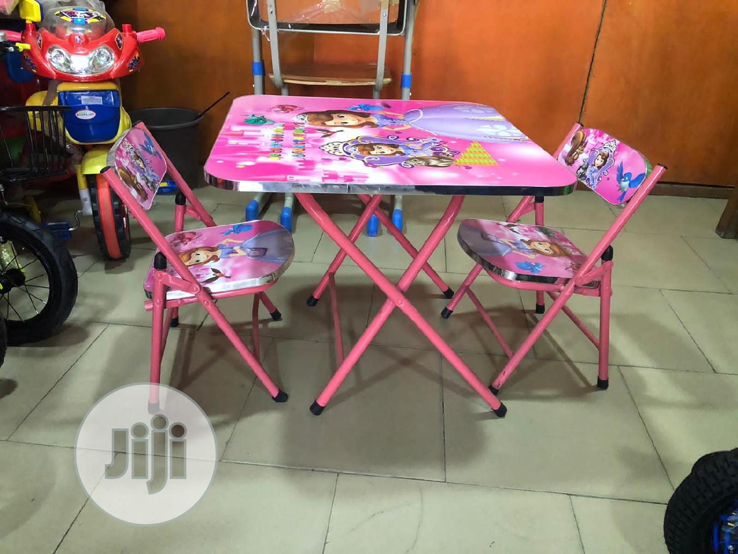 Archive: Table With Double Chair Age 1-4