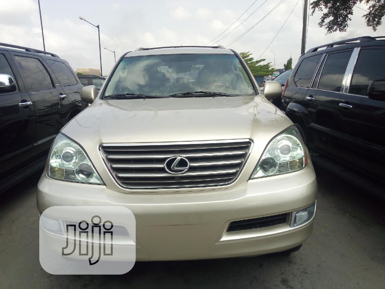 Lexus GX 2005 470 Sport Utility Gold   Cars for sale in Amuwo-Odofin, Lagos State, Nigeria