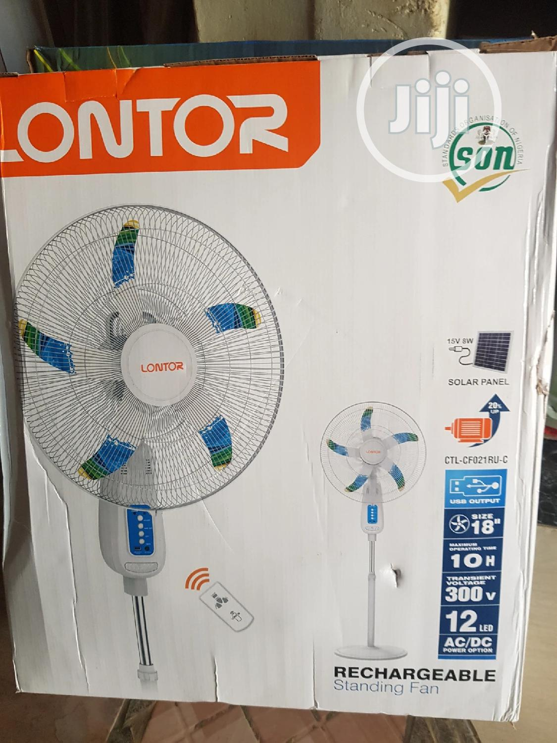 Lontor Rechargeable Fan