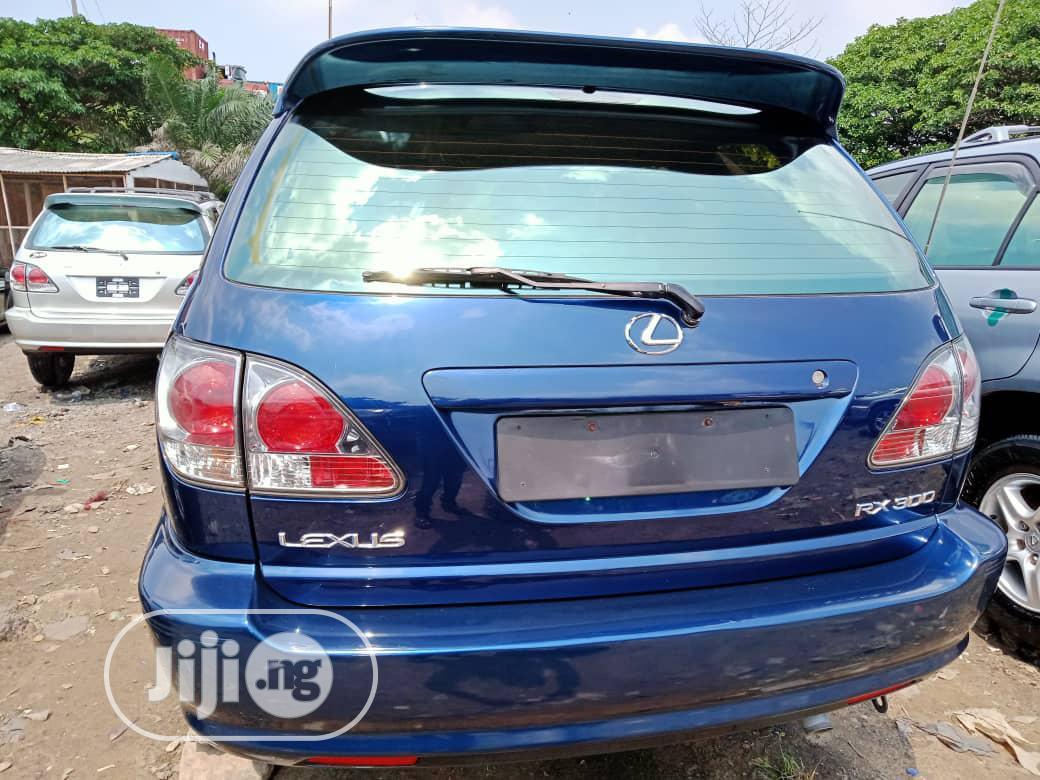 Lexus RX 2003 Blue   Cars for sale in Amuwo-Odofin, Lagos State, Nigeria