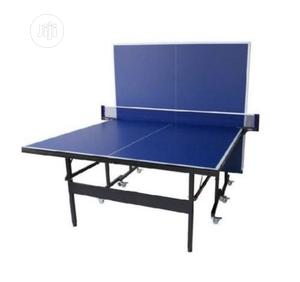 Indoor Table Tennis Board With 4bat 6ball | Sports Equipment for sale in Lagos State, Surulere