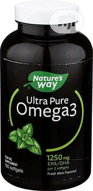 Nature Way Ultra Pure Omega3 | Vitamins & Supplements for sale in Lagos State, Ikoyi