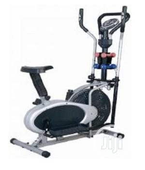 Orbitrack Exercise Bike With Dumbbells   Sports Equipment for sale in Lagos State, Surulere