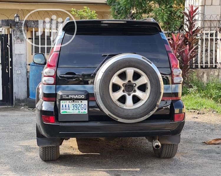 Toyota Land Cruiser Prado 2008 Black | Cars for sale in Egbe Idimu, Lagos State, Nigeria