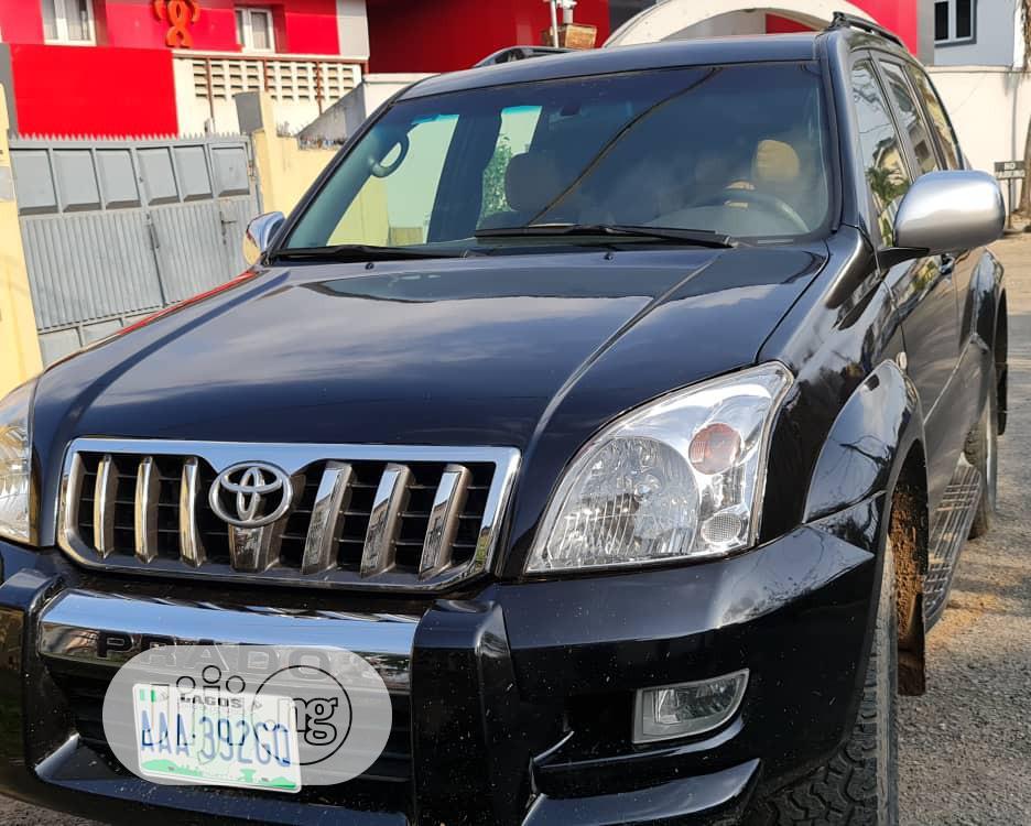 Toyota Land Cruiser Prado 2008 Black