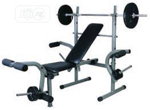 Weight Bench With 30kg Plate | Sports Equipment for sale in Lagos State, Surulere