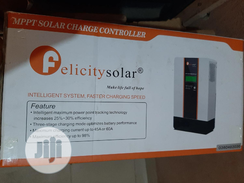 12V 24V 36V 48V 60A MPPT Felicity Solar Charge Controller | Solar Energy for sale in Ojo, Lagos State, Nigeria