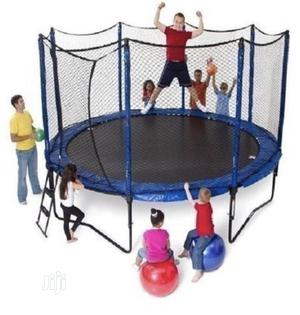 10ft Trampoline With Accessories   Sports Equipment for sale in Lagos State, Surulere