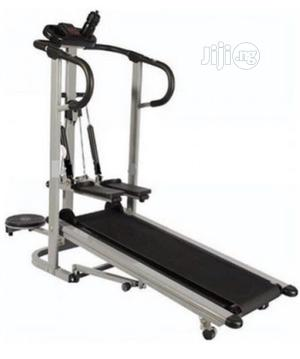 Manual Treadmill With Stepper Twister   Sports Equipment for sale in Lagos State, Surulere