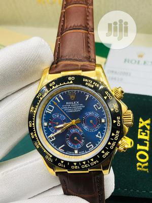 Top Quality Rolex Leather Watch   Watches for sale in Lagos State, Magodo