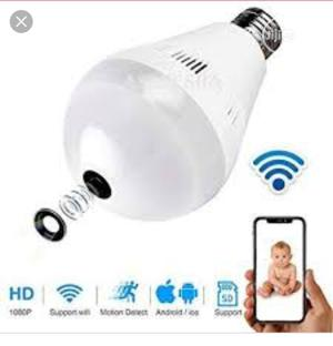 Panoramic Camera Wireless Light Bulb Ip Camera Wifi   Security & Surveillance for sale in Lagos State, Ikeja