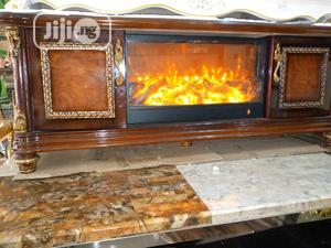 Wood Tv Stand Standard   Furniture for sale in Lagos State, Ikoyi