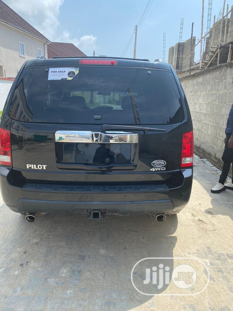 Honda Pilot 2009 Black | Cars for sale in Lekki, Lagos State, Nigeria