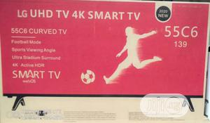 Original LG 55inches Smart Curved | TV & DVD Equipment for sale in Lagos State, Ojo