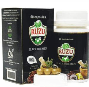 Original Ruzu Black for Men Capsules for ( Men )Only | Vitamins & Supplements for sale in Abuja (FCT) State, Apo District