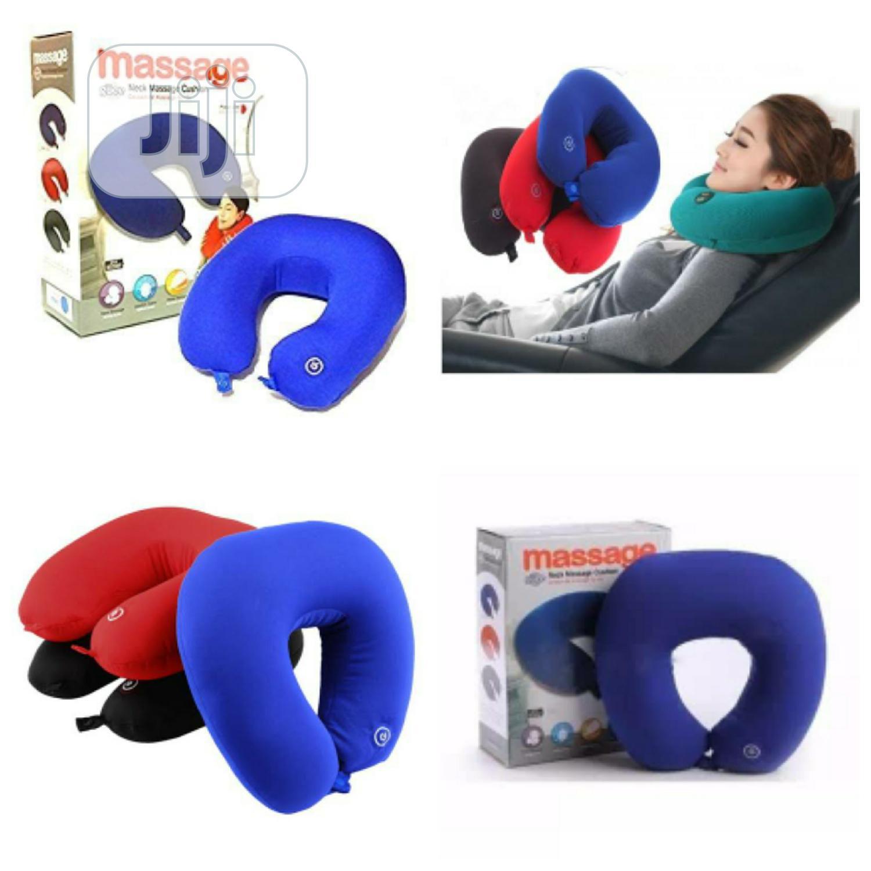 Neck Massage Pillow Cushion Battery Operated