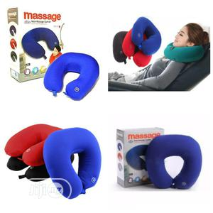 Neck Massage Pillow Cushion Battery Operated | Sports Equipment for sale in Lagos State, Lagos Island (Eko)