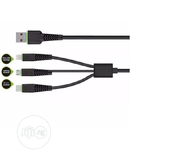 Archive: Budi 3 In 1 Charge Cable