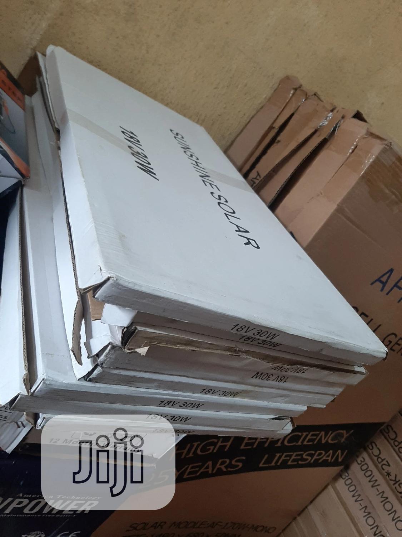 12V 30W Sunshine Solar Panels | Solar Energy for sale in Ojo, Lagos State, Nigeria