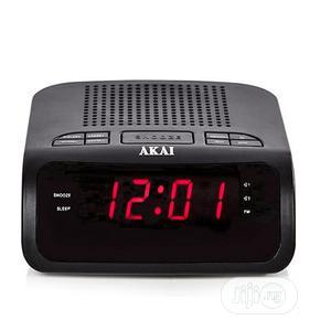 Akai AM/FM Clock Radio With LED Display, Dual Alarm   Audio & Music Equipment for sale in Lagos State, Ajah
