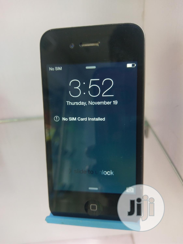 Apple iPhone 4 8 GB Black | Mobile Phones for sale in Ikeja, Lagos State, Nigeria