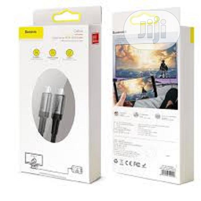 Baseus Cafule Series Pd3.1 100w Cable Type C   Accessories for Mobile Phones & Tablets for sale in Ikeja, Lagos State, Nigeria