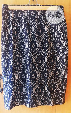 Beautiful Black And White Office Skirt   Clothing for sale in Abuja (FCT) State, Garki 1
